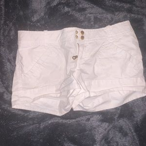 White Guess Shorts